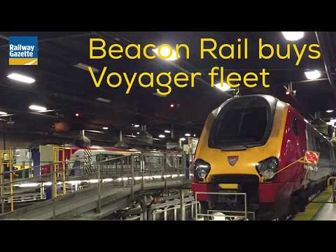 Beacon Rail Leasing buys Voyager DEMU fleet