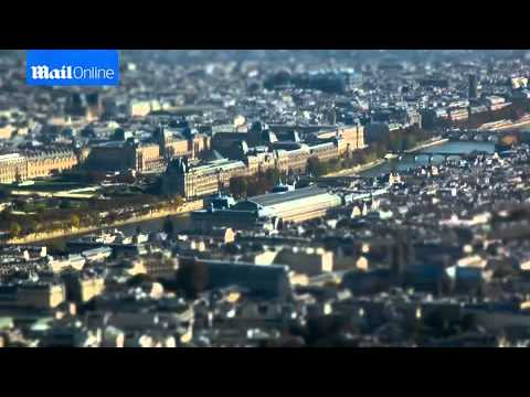 Petit Paris! American filmmaker uses special effects to make Eiffel Tower, Arc de Triomphe and pede
