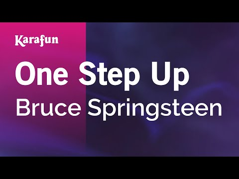 Karaoke One Step Up - Bruce Springsteen *