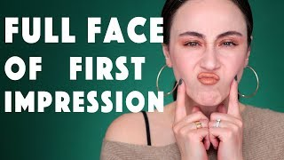 Full Face First Impression | HELLER FOUNDATION FAIL 😖 Hatice Schmidt
