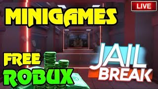 🔴 Roblox Jailbreak MINIGAMES... (Los ganadores obtienen ROBUX GRATIS) NUEVA INFO DE ACTUALIZACIONES Pronto ? Hide & Seek, SS