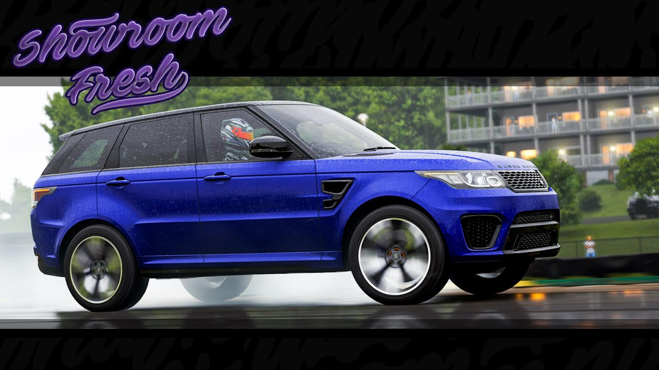 Forza Motorsport 6 - 2015 Land Rover Range Rover Sport SVR - YouTube