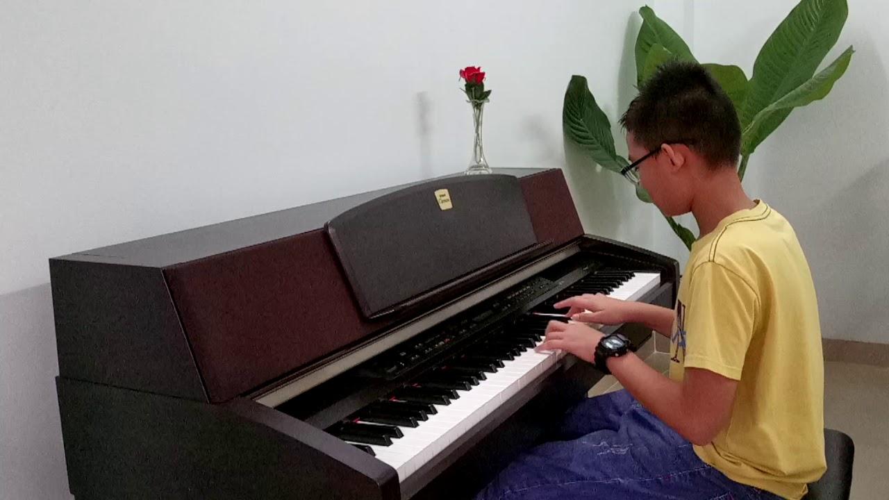 Turkish March | Bé trai tập đàn Piano | Hành khúc Thổ Nhĩ Kỳ