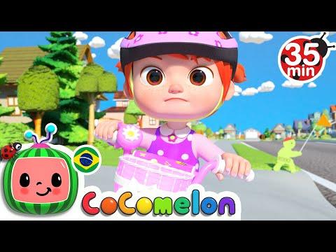 CoComelon em Português   Juntos Vamos Pedalar   Músicas Infantis   Compilação de Desenhos Animados