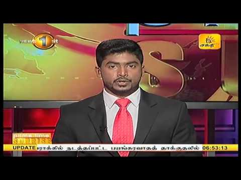News1st Prime Time News Sunrise Shakthi TV 25th November 2016