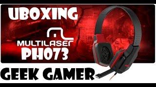 Headset Multilaser PH073:Unboxing & teste+denuncia correios