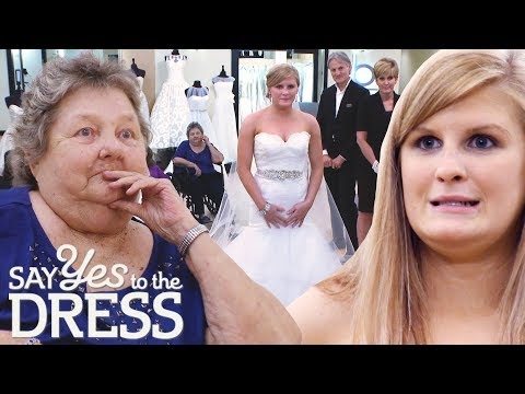 Bride Brings Up Wedding Date So Dying Nana Can Help Her Choose Dress | Say Yes To The Dress Atlanta