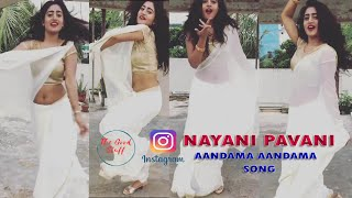 Andamaa Andamaa Dance by Nayani Pavani | Superb Dance | #Nayani_Pavani Dance for an Old Song👌🧚‍♂️