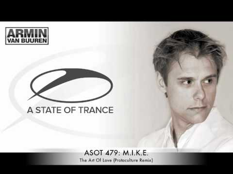 ASOT479 - M.I.K.E. - The Art Of Love (Protoculture Remix)
