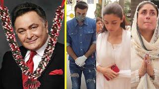 Download lagu Ranbir, Alia, Kareena Emotional At Rishi Kapoor's Last Ride