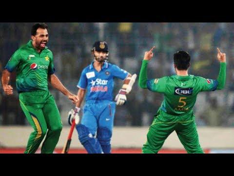 INDvsPAK Final  Pakistan thrash India by 180 runs