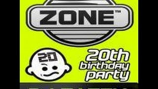 The Zone 20th Birthday 2011© Mixed By Dj Tatty