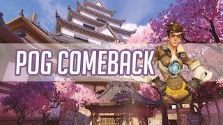 Overwatch - Kabaji Carry Mode as Tracer and Soldier 76 in High SR Game