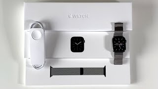 Apple Watch Series 6 Unboxing: Graphite! (Stainless Steel 44mm)