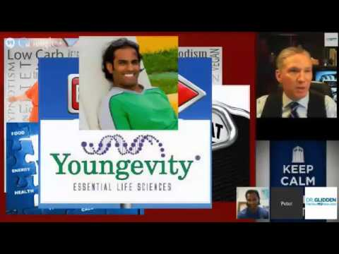 Obesity remedy with Youngevity interview by Sanjeev Javia with Dr Peter Glidden