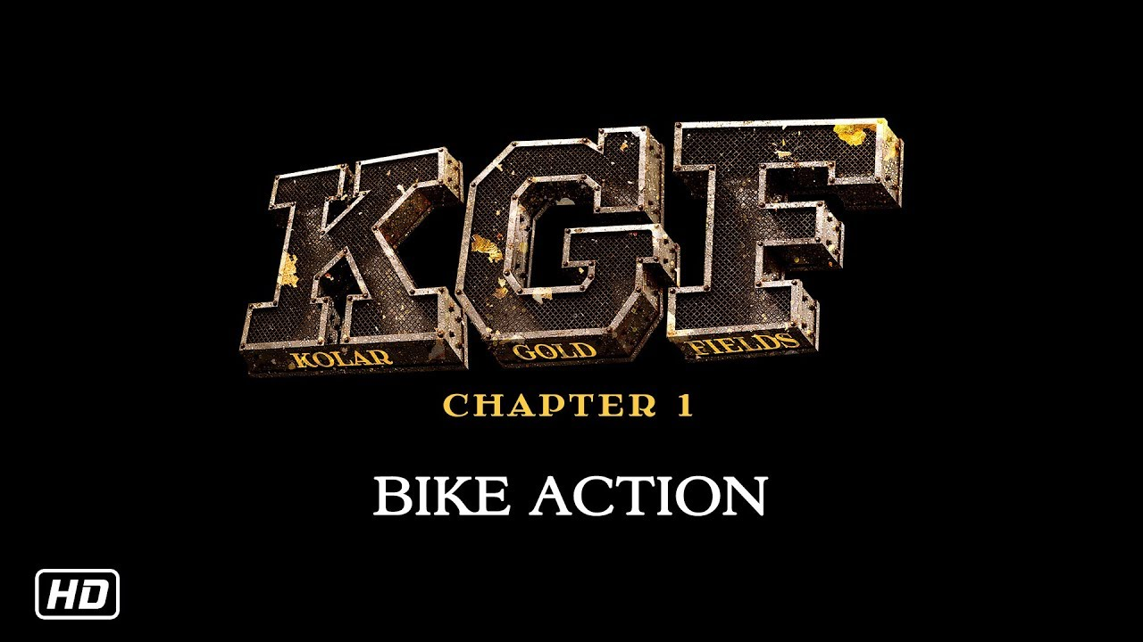 KGF Bike Action | 21st December | Yash | Srinidhi Shetty - YouTube