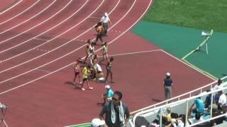 H29 千葉県 中学通信陸上 1年女子100m 決勝