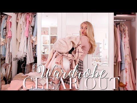 HUGE Wardrobe clear out/declutter 2019! ~ Freddy My Love