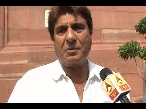 Raj Babbar reiterates past coalition with SP and BSP in centre