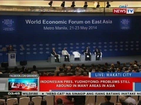 NTVL: Opening plenary ng 23rd World Economic Forum on East Asia