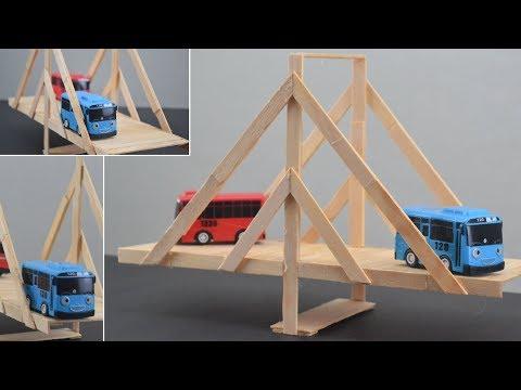 DIY Popsicle Sticks Bridge