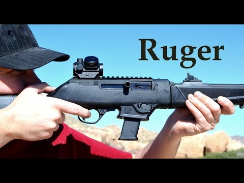 Ruger PC Carbine & Bushnell TRS25 Red Dot - Perfect Combo