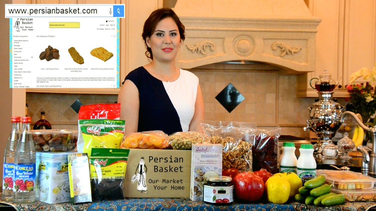 Persian Basket Online Grocery Store Youtube