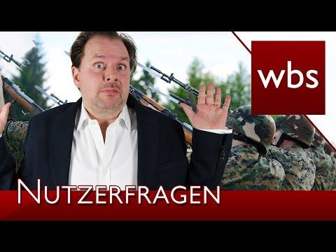 Nutzerfragen: Wann dürfen Soldaten Befehle verweigern?   Rechtsanwalt Christian Solmecke