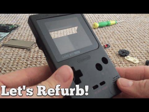 Let's Refurb! - Gameboy Pocket! - Part 1