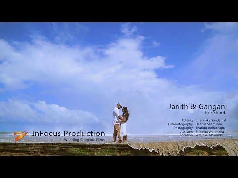 Janith & Gangani Pre Shoot