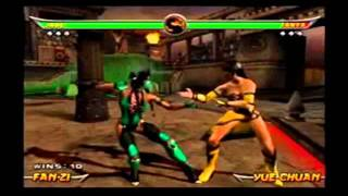 Mortal Kombat Stage Fatalities and Death Traps Collection
