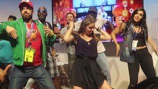 Dancing at E3!