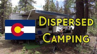 Dispersed Camping Colorado
