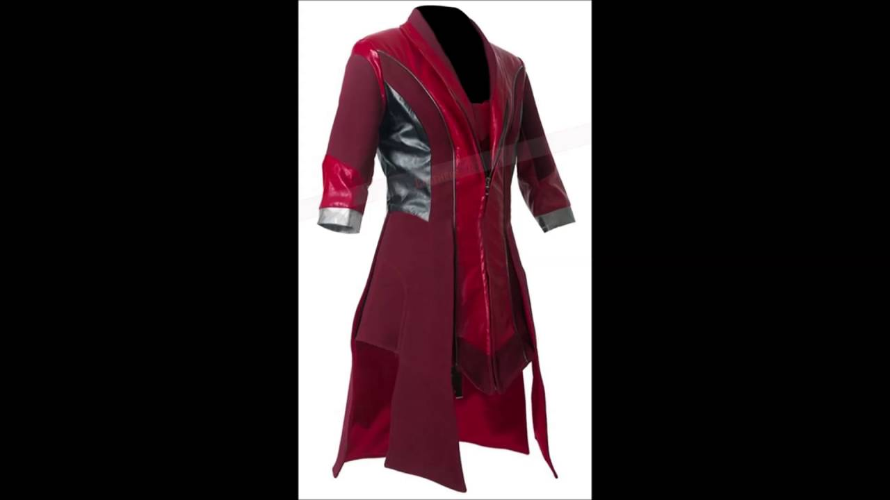 Avengers Age Of Ultron Scarlet Witch Costume Coat Youtube