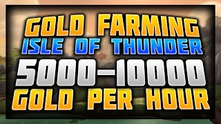 WoW Gold Farming Guide 6.2.4 - Isle of Thunder Weapon Transmog Farming - WoD 6.2 Gold Farming
