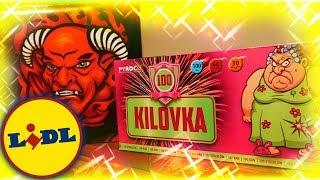 Fajerwerki z  LIDLA - KILOVKA oraz SUPER BOMBA