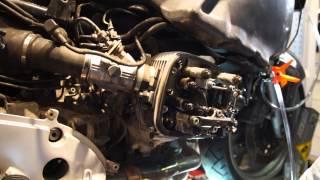 BMW R1100RT Valve adjustment
