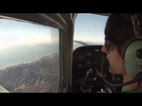 C172: Solo Cross Country - Van Nuys to Santa Barbara