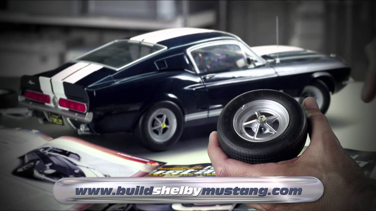 Build Your Own Ford >> DEAGOSTINI MUSTANG 30 UK - YouTube