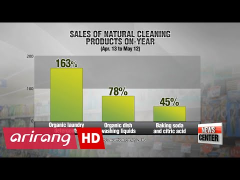 More consumers in Korea choosing organic alternatives for chemical-based products