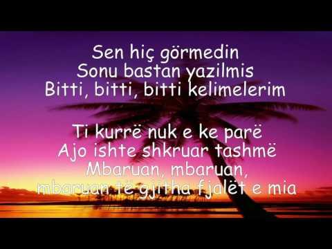 Emre Aydin - Hoşçakal (me perkthim Shqip) ( Official Video Lyrics)