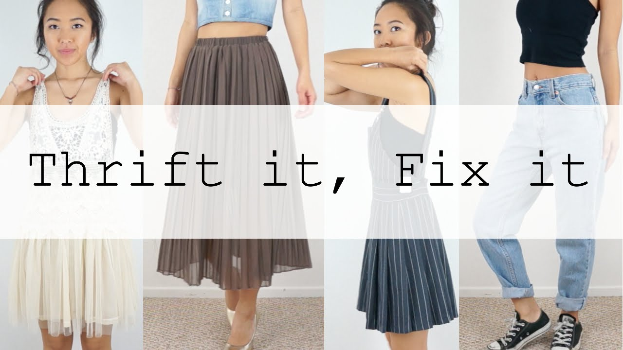 Thrifted Quick Fix | Ep. 1 @coolirpa - YouTube