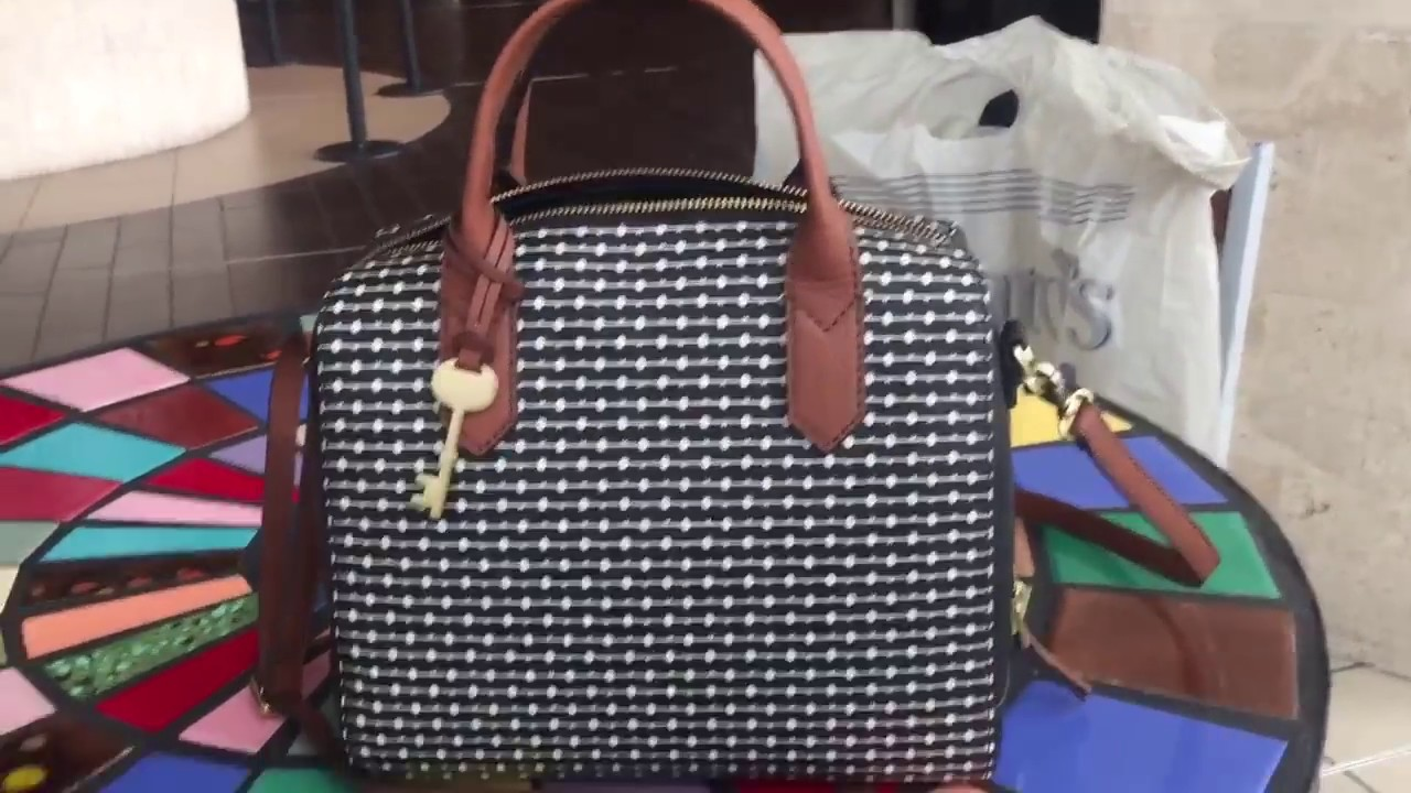 6755b9b89a Fossil Fiona (the new Fossil Sydney Satchel ) - YouTube