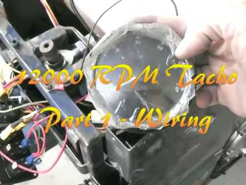 12000rpm Tacho - Part 1, Wiring