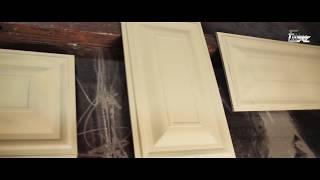 видео Двери с металлической филенкой