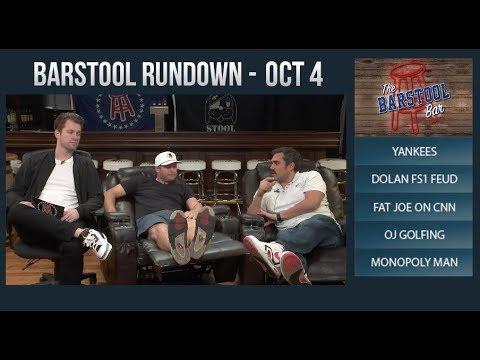 Barstool Rundown - October 4, 2017