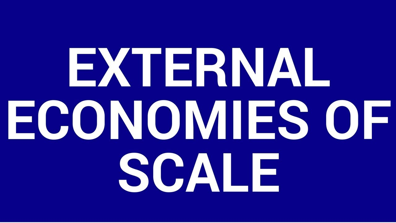 external economics