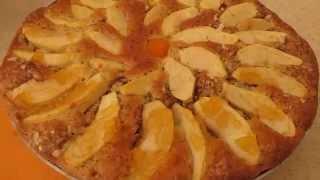 Пирог с яблоками.Рецепт шарлотки. Elmalı pasta tarifi.(В этом видео мы будем готовить пирог с яблоками. По этому рецепту гарлотка получается очень вкусная и арома..., 2015-09-19T08:41:29.000Z)