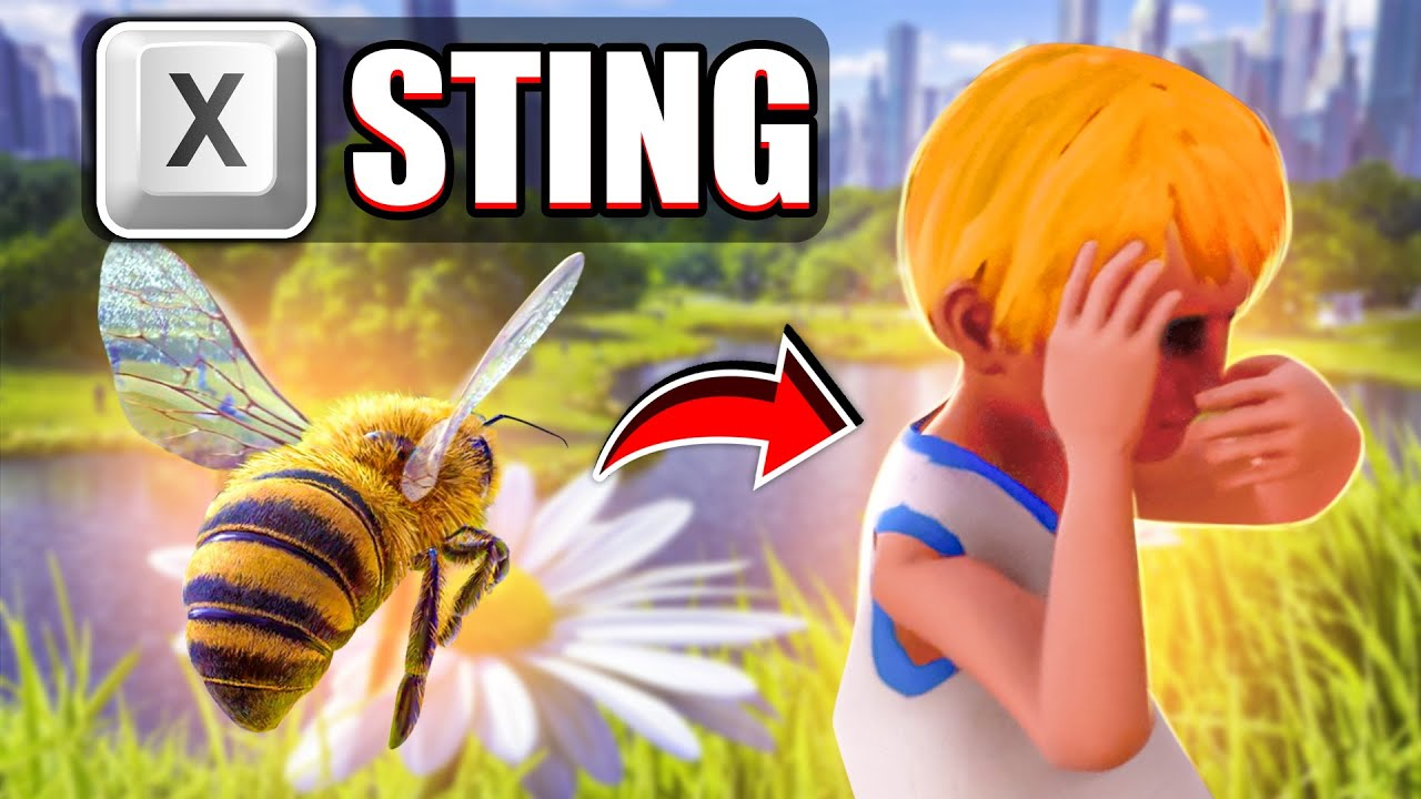 I played bee simulator in a way that was not intended