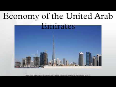 Economy of the United Arab Emirates